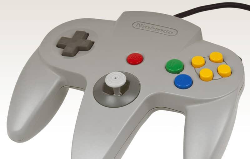 Nintendo-N64-Classic-Mini-Controller