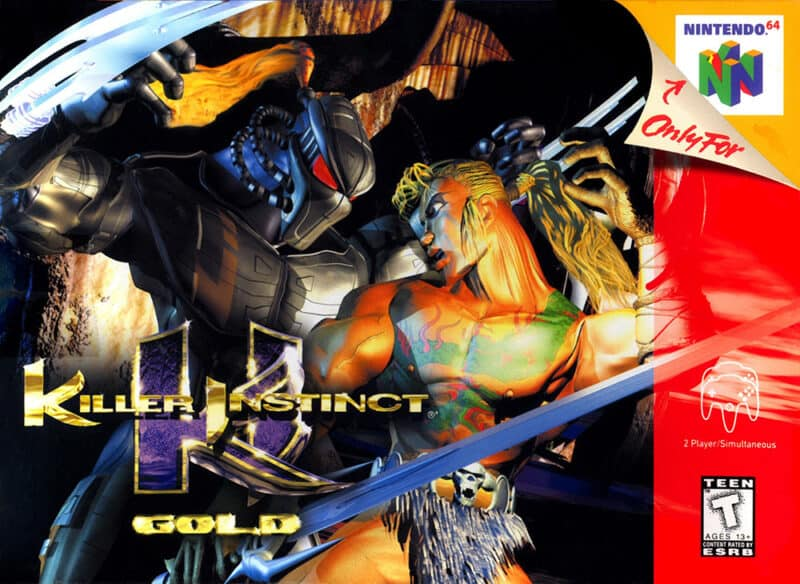 Nintendo-N64-Classic-Mini-Killer-Instinct-Gold