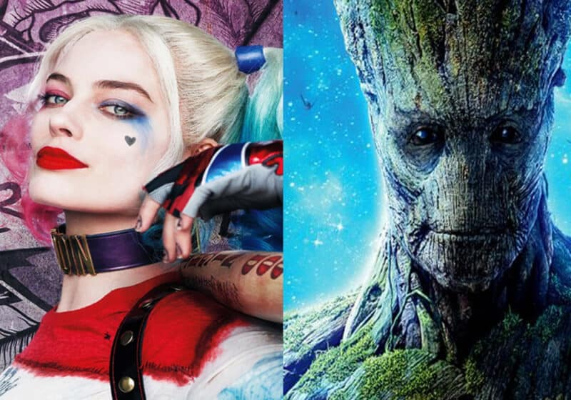 Suicide-Squad-Guardians-Galaxy-DC-Marvel-Harley-Quinn-Groot
