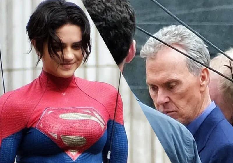 The-Flash-Set-Photo-Leaks-Supergirl-Bruce-Wayne-Sasha-Calle-Michael-Keaton