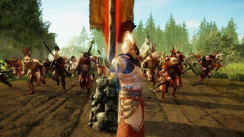 Amazon-New-World-MMORPG-Open-Beta-Battle