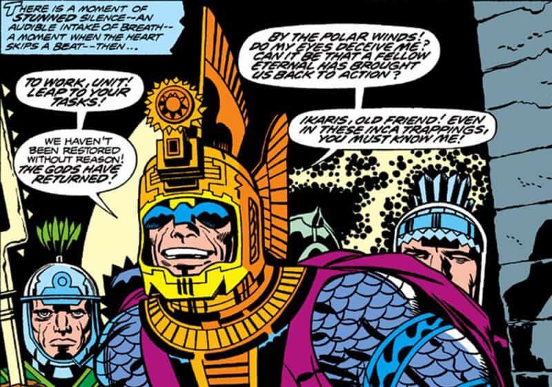 Marvel-Eternals-Ajak-Salma-Hayek-Comics-Jack-Kirby