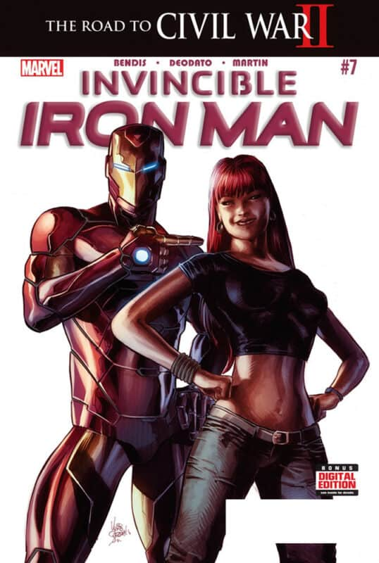 Marvel-Iron-Man-Ironheart-Mike-Deodato-Dean-White-Comic