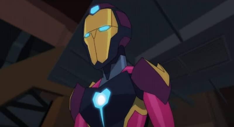 Marvel-Iron-Man-Ironheart-Promo-Black-Panther-Animated