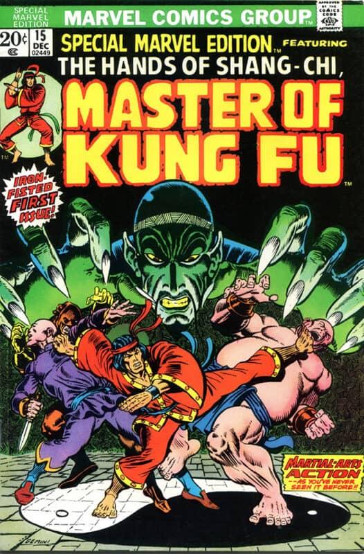 Marvel-Shang-Chi-Master-of-Kung-Fu-First-Comic