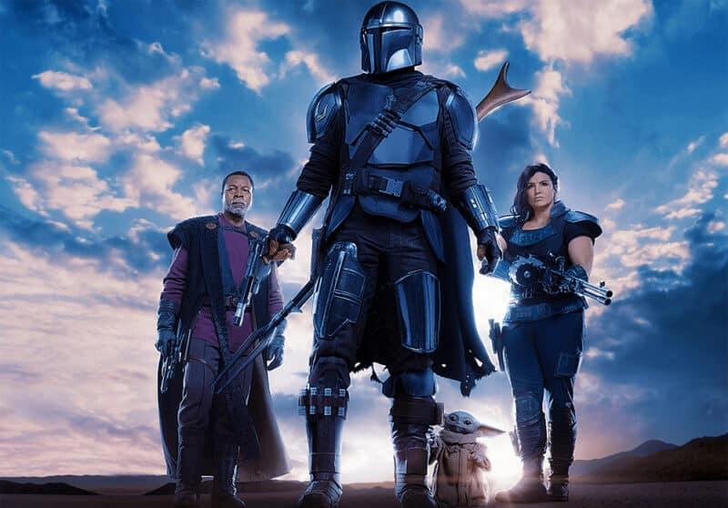 Star-Wars-Mandalorian-Season-3-Din-Djarin-Grogu-Cara-Dune-Greef-Karga