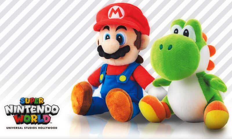 Super-Nintendo-World-Universal-Studios-Mario-Yoshi-Merch-Plush