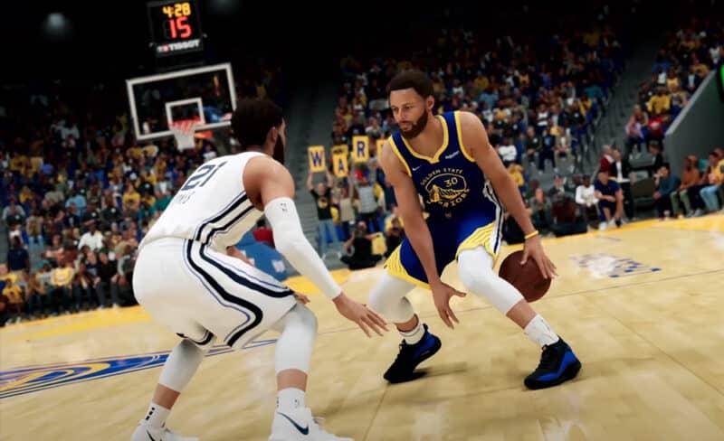 NBA-2k22-gameplay-myteam-trailer-2k-Games-Dribble