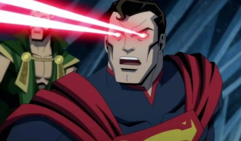 Superman is definitely seeing red in the Injustice Red Band trailer