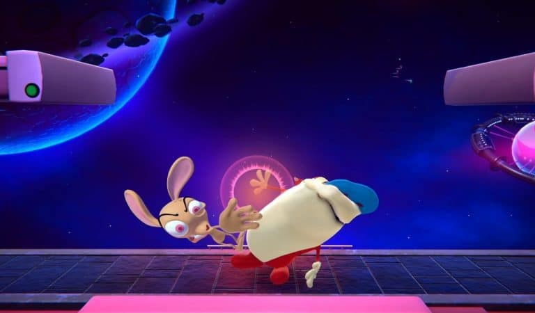 The dark comic duo of Ren and Stimpy are set to join Nickelodeon All-Star Brawl