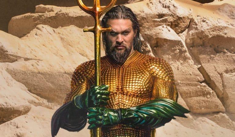 Jason Momoa takes fans behind-the-scenes of Aquaman 2 at DC FanDome 2021