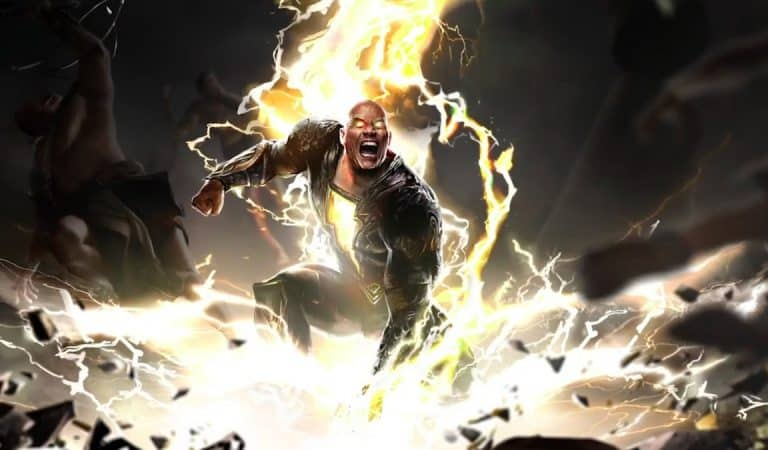 The Rock says that Superman cannot beat Black Adam